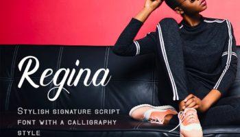 Шрифт Regina