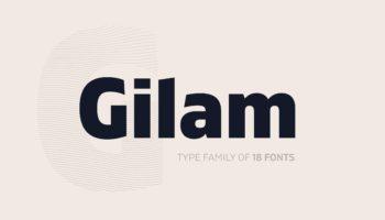 Шрифт Gilam скачать кириллица