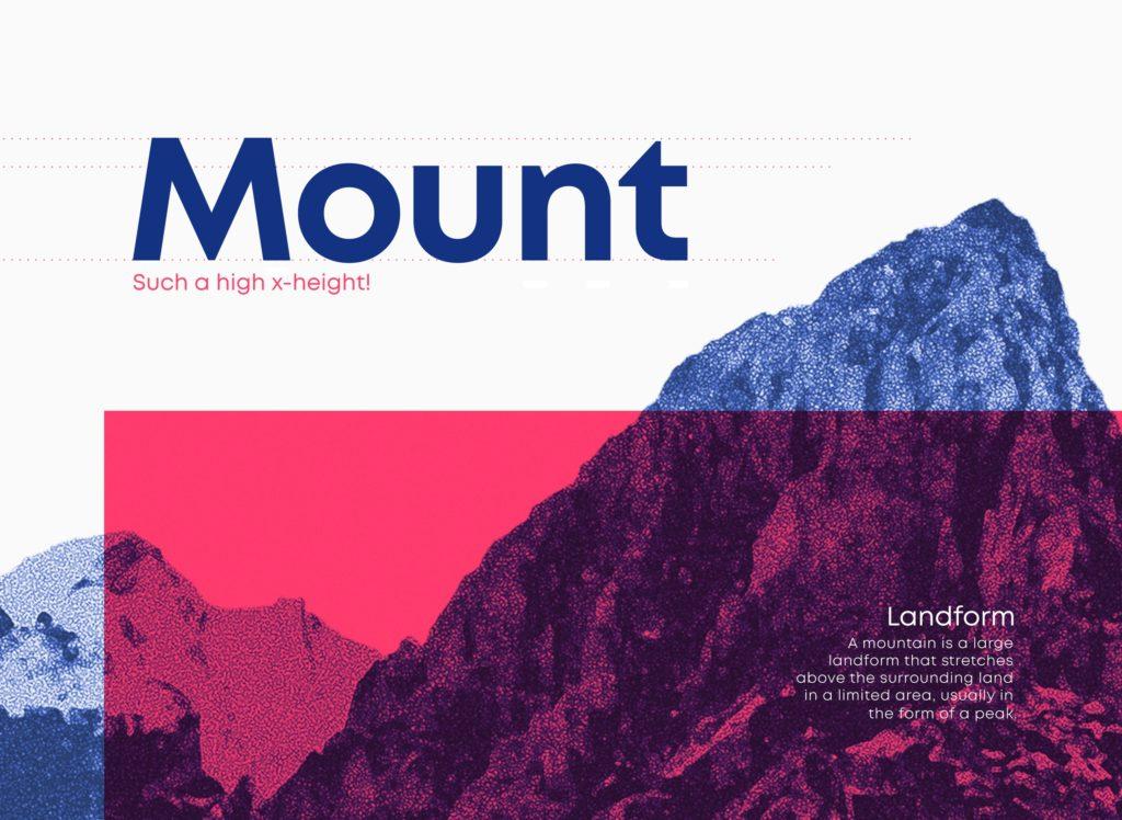 Шрифт Mont скачать