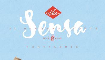 Шрифт SENSA — кириллица
