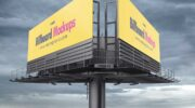 3 мокапа билбордов PSD