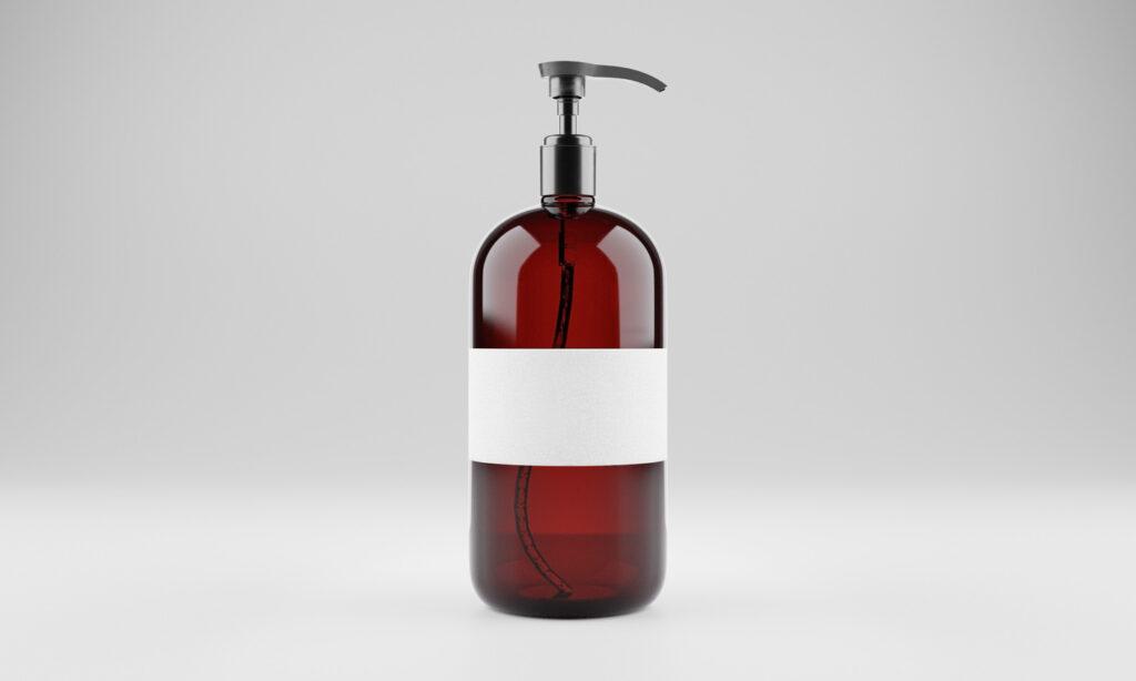 мокап жидкого мыла PSD