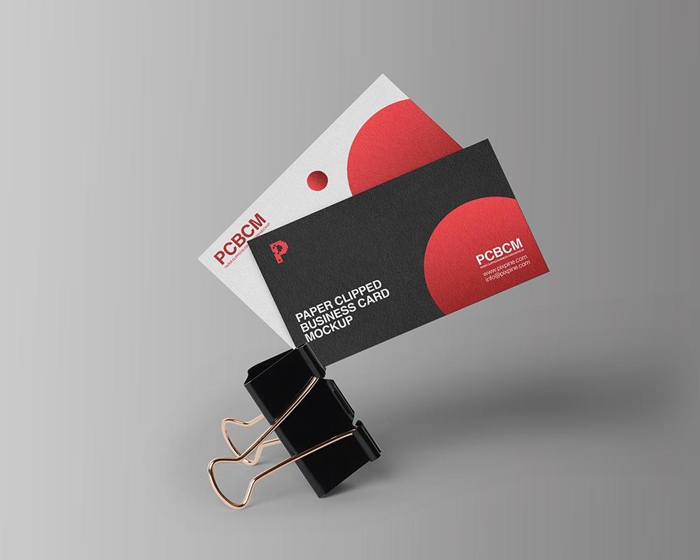 Мокап визиток PSD