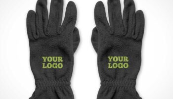Мокап перчаток PSD