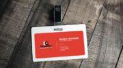 Мокап пластиковой карты PSD