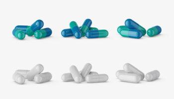 Мокап таблеток PSD