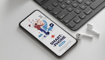 Мокап смартфона PSD