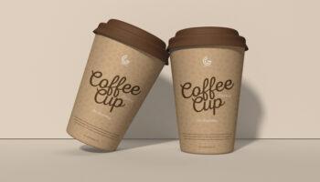 Мокап стаканчика для кофе PSD