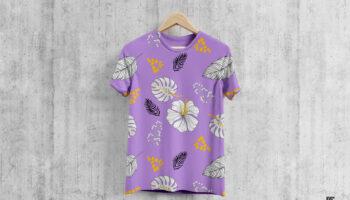 Мокап футболки PSD