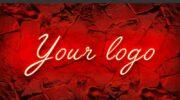 Мокап лого, неоновая вывеска PSD