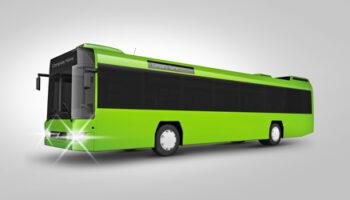 Мокап автобуса PSD