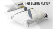 Мокап постельного белья PSD