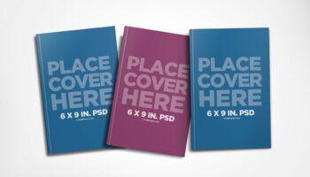 Мокап книг PSD
