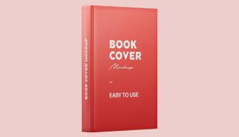Мокап книги PSD