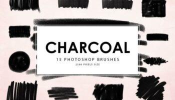 Кисти для Photoshop Charcoal ABR