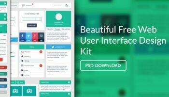 Дизайн пользовательского интерфейса PSD