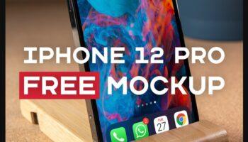 Мокап iPhone 12 pro PSD