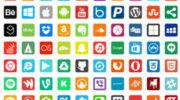 Набок иконок социальных сетей